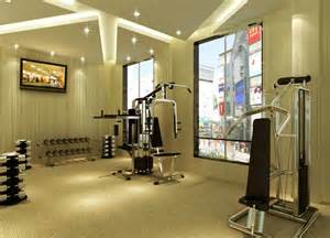 small fitness room interior design 3d 3d house