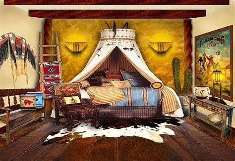 Native American Indian Home Decor inspiration native american inspired bedroom stylish western home