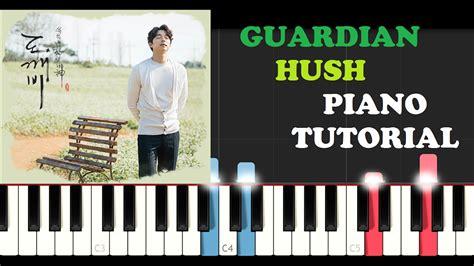 piano tutorial youtube channel guardian hush piano tutorial intro free piano sheet