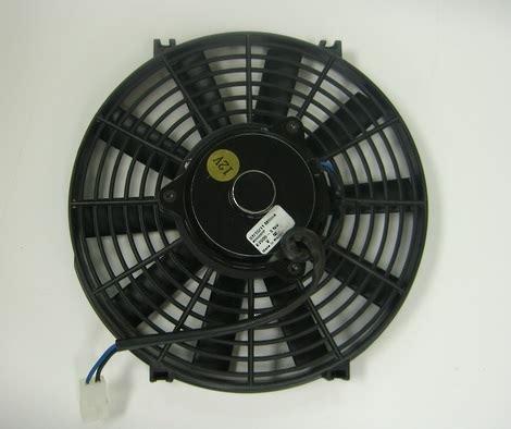 pusher fan vs puller fan electric fan baco 12v reversible 12 blade pusher