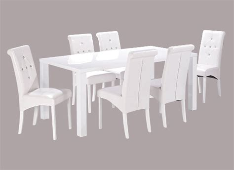 large white table l large dining table white lpd furniture