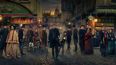 charles dickens biography video bbc bbc one dickensian