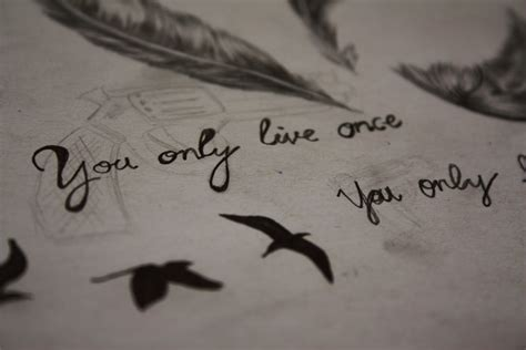 tattoo ideas you only live once you only live once by m0nkiki on deviantart