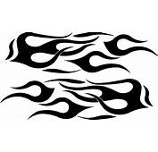 Vinyl Cut Auto Decals Flame For Cars Vehicle