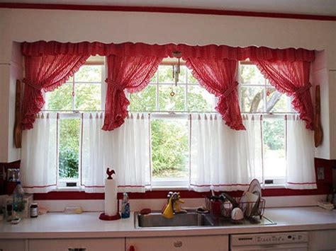 red kitchen curtains want to know more about red kitchen curtains