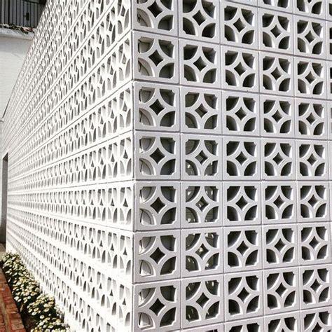 decorative blocks sweet breeze block wall northern nsw halcyon house