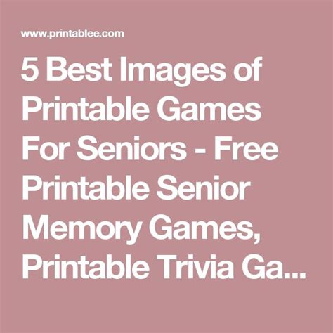printable word games for seniors best 20 trivia games ideas on pinterest fun trivia