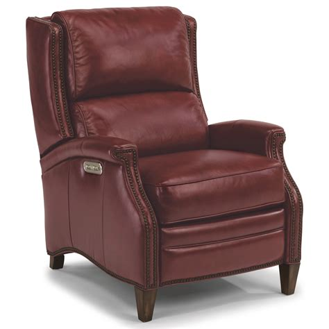Recliners For by Flexsteel Latitudes Bishop Transitional Power High Leg