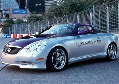 lexus car 2001 bluendi lexus sc430 pace car 2001