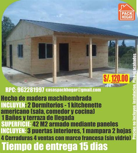 precio casas casas prefabricadas de madera precios baratos