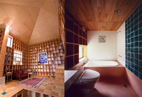 shelf pod an entire japanese home lined with a maze of