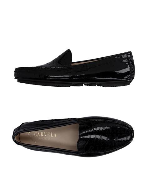 carvela kurt geiger loafer in black for lyst