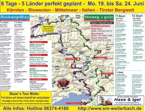 Motorradtouren In Slowenien by Slowenien 6 Tage 5 N 228 Chte 2019 S 252 Dwestdeutsche