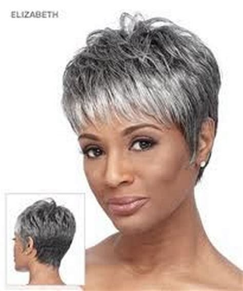 short styles for thick grey hair short hair styles for grey hair