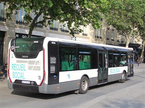 si鑒e de la ratp trans phototh 232 que autobus iveco urbanway ratp