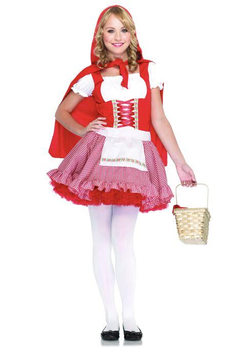 halloween costumes for teen girls teen red riding hood costume