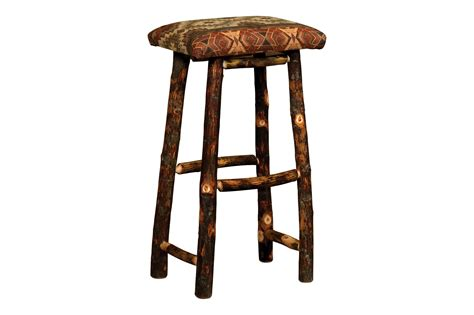 Hickory Wood Bar Stools by Hickory Bar Stool D Hardwood Creations