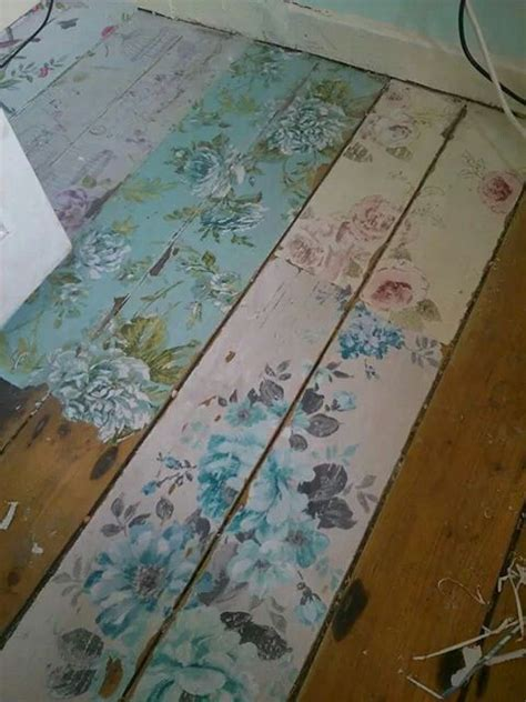 Decoupage Floor - the world s catalog of ideas