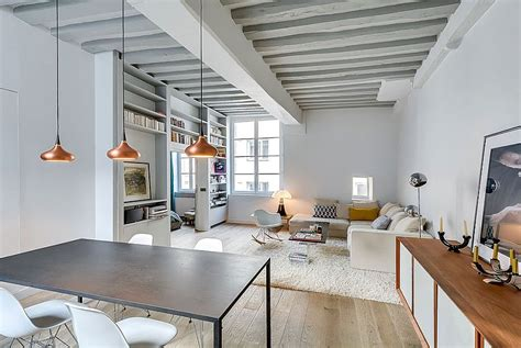 adding beams to ceiling painted ceiling beams add to the classic appeal of the small apartment decoist