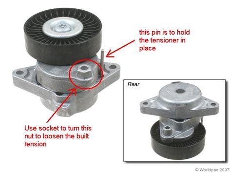 how to change serpentine belt tensioner pulley on a 2009 nissan gt r serpentine belt change page 5 mercedes benz forum