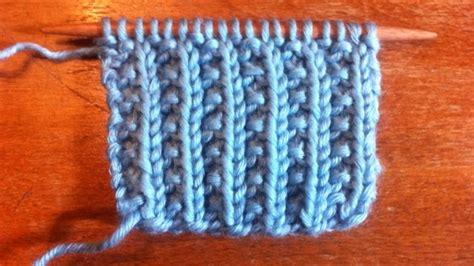 how to knit rib stitch how to knit the farrow rib stitch stitch pattern for