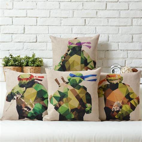 teenage mutant ninja turtles home decor teenage mutant ninja turtles creative cute animals linen