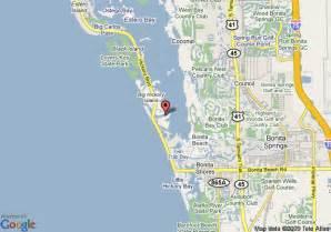 bonita bay florida map map of bonita resort club bonita springs