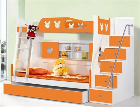 Best Bunk Beds With Storage Best Toddler Bunk Beds With Stairs Homesfeed
