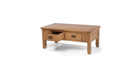 Rustic Bench Coffee Table Rustic Oak 2 Drawer Coffee Table Lifestyle Furniture Uk