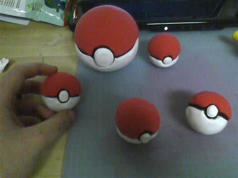 Handcrafted Pokeballs - handmade pokeballs by dramakana26 on deviantart