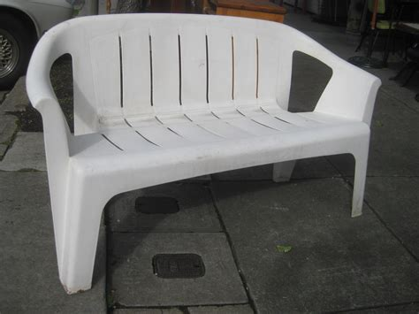 plastic lawn bench uhuru furniture collectibles sold patio furniture