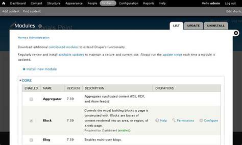 drupal theme links system main menu drupal menu management