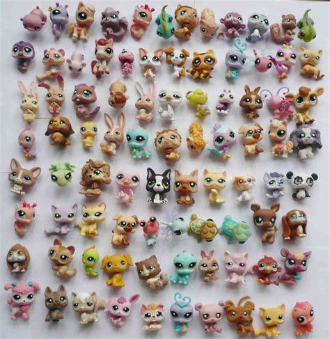 pet shop puppies topop8688 15pcs littlest pet shop cat fish hrose figure h65