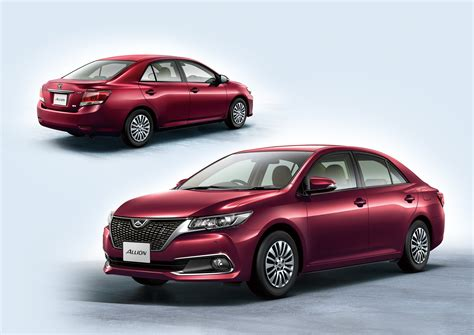 toyota allion images toyota allion and premio facelift unveiled in japan image