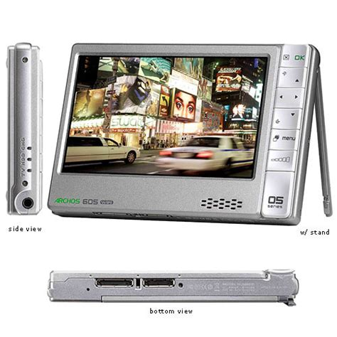 Archos Pmp Thats Portable Media Player To The Uninitiated by Archos 605 80gb Wi Fi Portable Media Player 500963 B H Photo