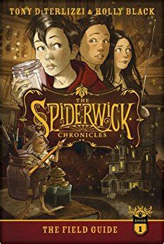 the field guide the spiderwick chronicles tony diterlizzi holly black 9781442486928 amazon