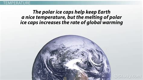 earth the biography ice facts polar ice caps temperature melting effects facts