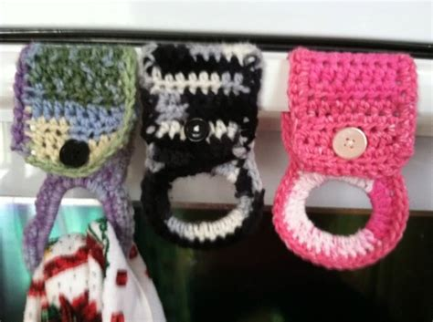 pattern for hand towel holder crochet tea towel holders great hostess gift with