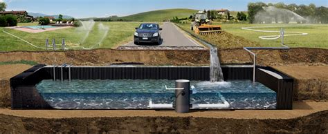 vasca accumulo acqua piovana serbatoio accumulo acqua piovana idee di design per la casa