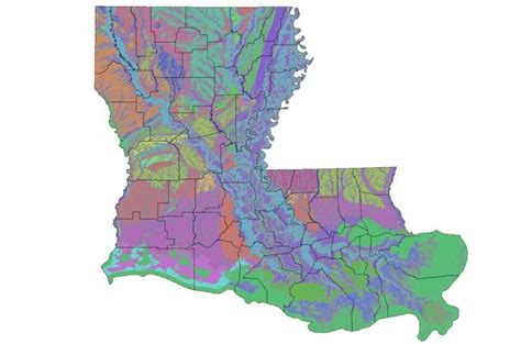 louisiana geologic map interactive map of louisiana s geology and water resources