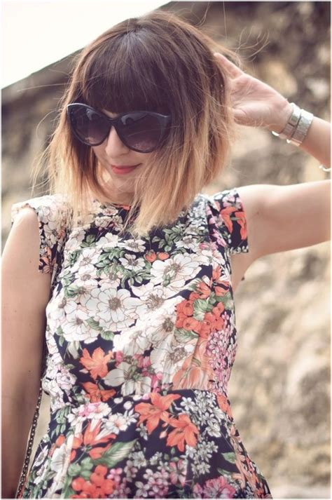 short ombre hair with bangs 11 best short hair with bangs popular haircuts