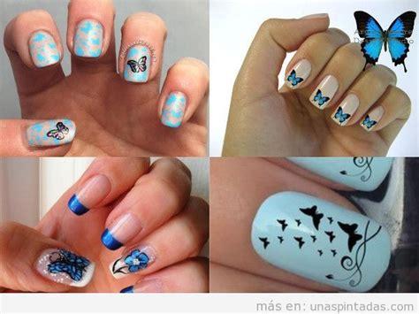 imagenes uñas decoradas mariposas u 241 as decoradas con mariposas c 243 mo dibujarlas paso paso
