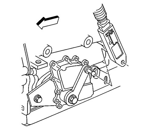how do i unhook transmission shift cable from a 1993 alfa romeo spider corvette c5 differential replacement