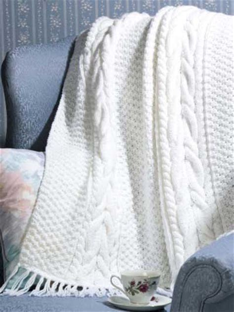 cable knit throw pattern free craftdrawer crafts top 10 free afghan throw knitting