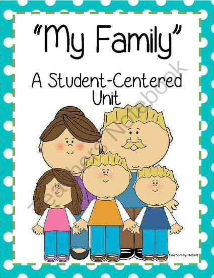 themes in mi familia my family student centered unit from 1 2 3 creations by