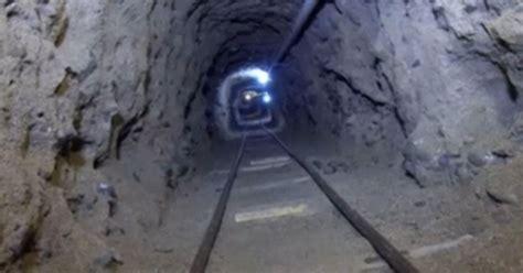 underground banned secret underground illegal tunnel found close to border
