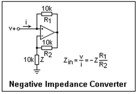 inductive reactance is negative the gyrator