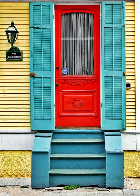 New Orleans Doors by Door In New Orleans Photograph By Christine Till