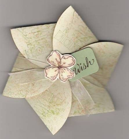 Flat Flower Box Vow Renewal Ideas Pinterest Origami Invitations Flower Cards And Origami Flower Box Template