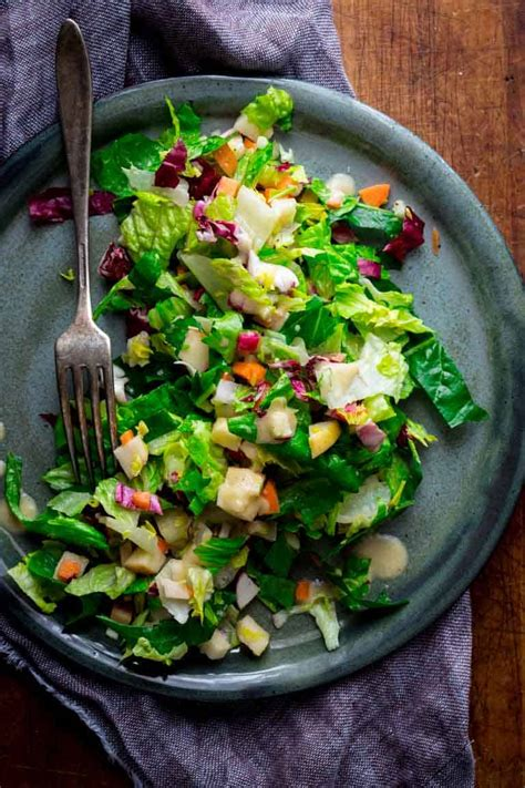 chopped winter salad healthy seasonal recipes